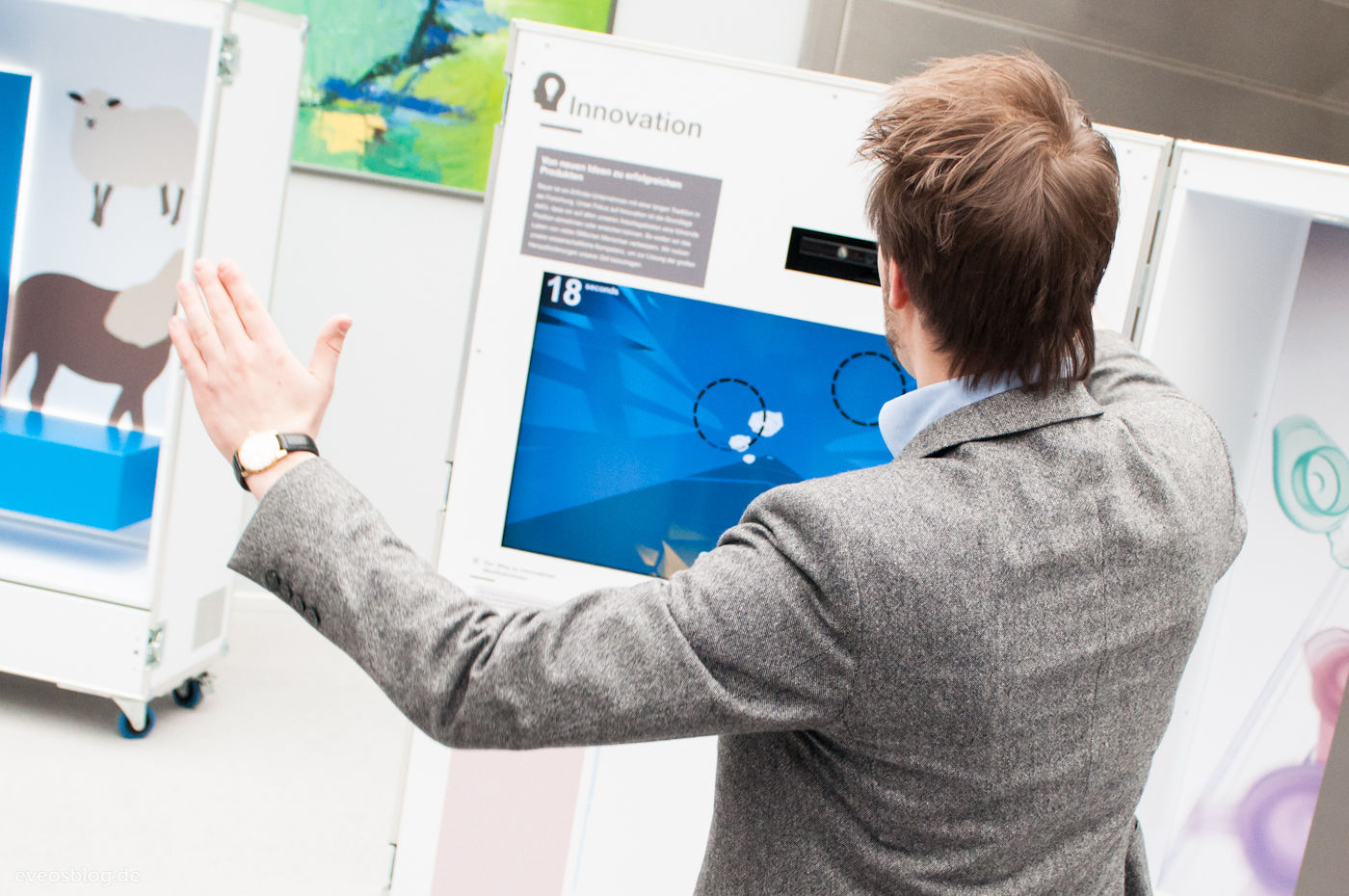 Bayer Innovation Kinect Game