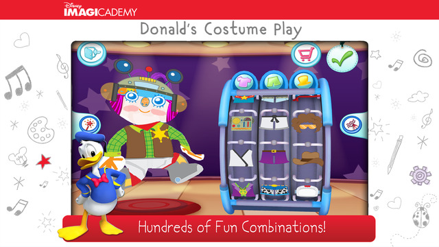 Donald's Costume Play