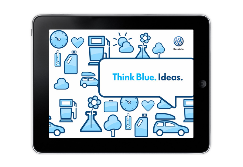 Volkswagen Think Blue Ipad App